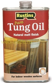 Тунговое масло (Tung oil)